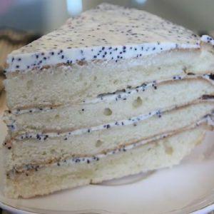Торт сметанний