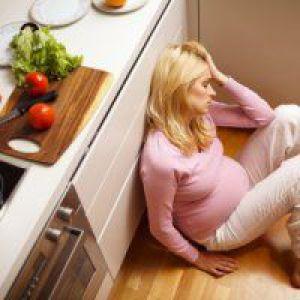 Нудота на 36 тижні вагітності