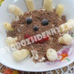 Сирний десерт для дитини