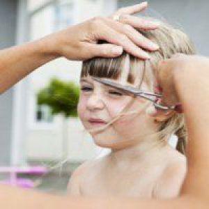 Догляд за волоссям дитини в 4 роки