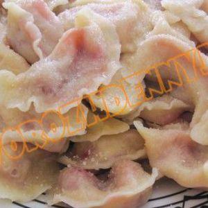 Вареники з полуницею (тісто + начинка)