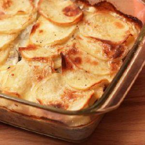Запіканка картопляна з фаршем